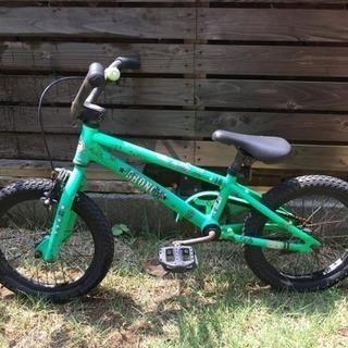 子供用 BMX 自転車 グリーン 16インチ キッズ