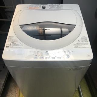 東芝 5.0kg 洗濯機 AW-50GM 2014年製