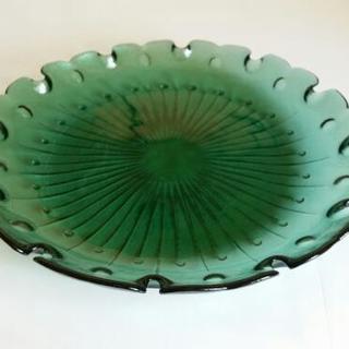 ガラスの大皿