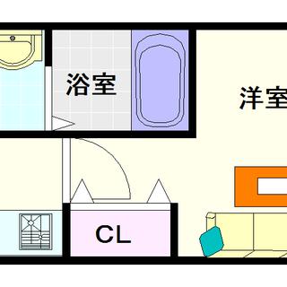 【Dolce Vita 難波南】3号タイプ!1Kタイプ!1階に託...