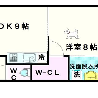 【S-RESIDENCE学園坂】3号タイプ!1LDKタイプ!まるで...