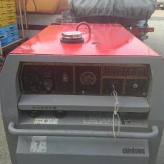 防音型エンジン発電機兼用溶接機売ります🎵