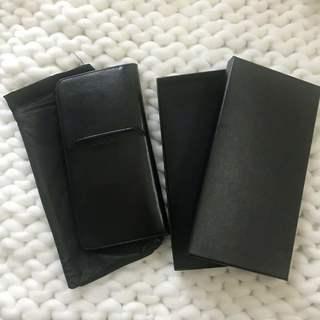 新品未使用 本革多機能パスポートケース