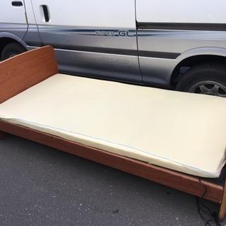完動品 ニトリ 電動ベッド 2モーター LC070399