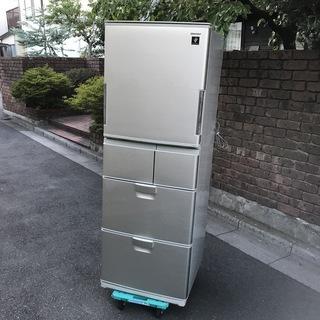 SJ-PW38S-N [冷蔵庫(380L・どっちもドア) プラズ...