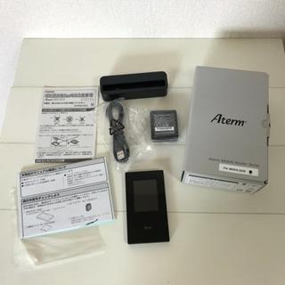 Aterm モバイルルーター PA-MR04LNAB + クレードル