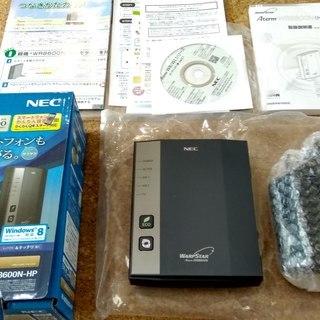NEC ワイヤレスブロードバンドルーター PA-WR8600N-HP