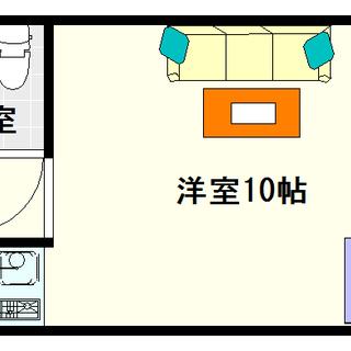 【イトーピア高津Ⅱ】2号タイプ!1Rタイプ!上町台地を一望してみま...