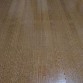 中古 天然木使用ウッドカーペット 6畳用 オーク802