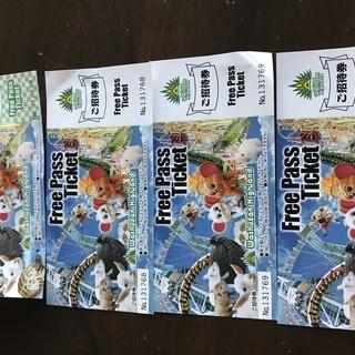 ブラジリアンパーク鷲羽山ハイランド フリーパスチケット 4枚