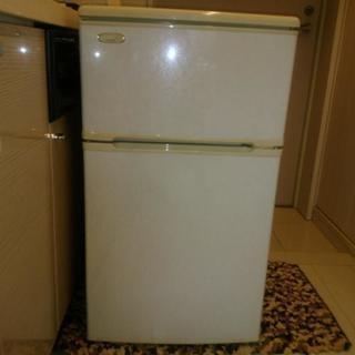 あげます。小型冷蔵庫。