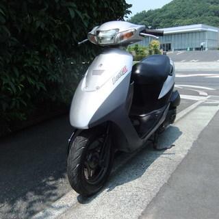 スズキ レッツ2(中期型) 中古実動車 バッテリー新品 サイドス...