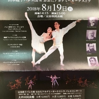 バレエコンサート チケット