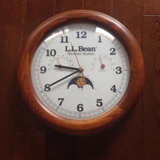 壁掛け時計 LLBean