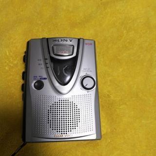 カセットテープレコーダーSONY