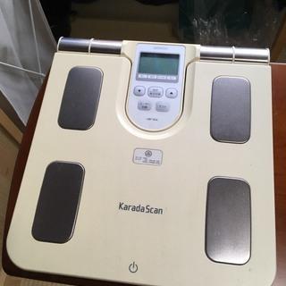 ジャンク品:オムロン体重体脂肪計