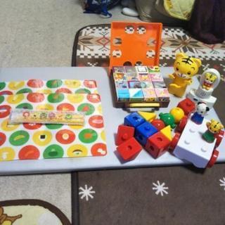 しまじろう知育玩具・箸とランチョンマット