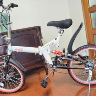 折りたたみ自転車 AERO HB206SUS コカ・コーラロゴ入り