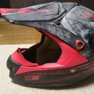 モトクロス用ヘルメット♪Mサイズ!!