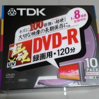 TDK 録画用DVD-R 超硬 8倍速 カラーレーベル 10枚パック