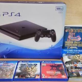 PS4 「500GB」本体とソフト