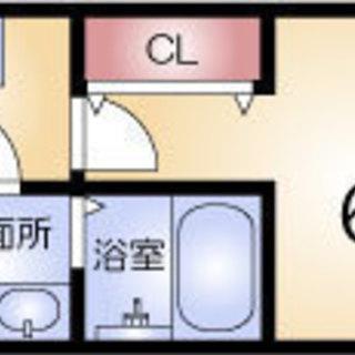 海老江9分 家賃35,000円 共益費4,000円 22㎡