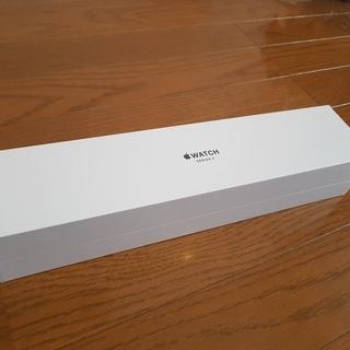 Apple Watch 3 GPSモデル(スペースグレイ・ブラッ...