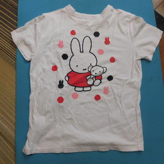 ミッフィー 白Tシャツ レディース Mサイズ(中古)