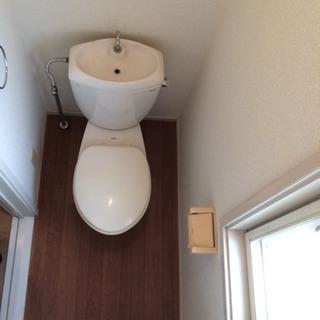 トイレ壁紙(クロス)、床張替え一式 35000円