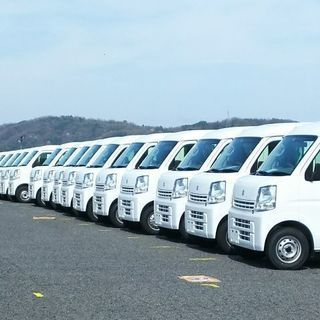 [委]軽貨物配送ドライバー(1日13500円保証です。)