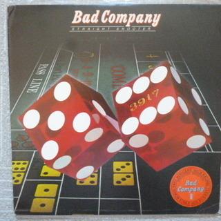 LPレコード バッド・カンパニー 2ndアルバム「STRA…