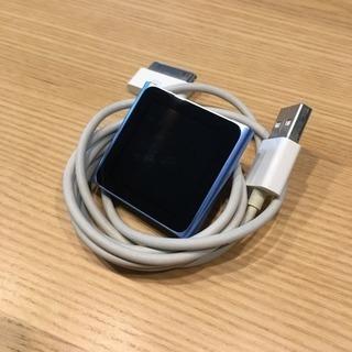 iPod nano 第6世代(ブルー)交渉中です。