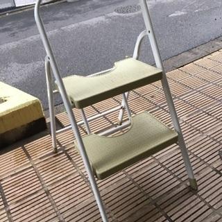 折りたたみ式 2段踏み台