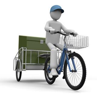 【配送スタッフ】自転車に乗れればOK!社会人デビュー歓迎!未経験歓迎!