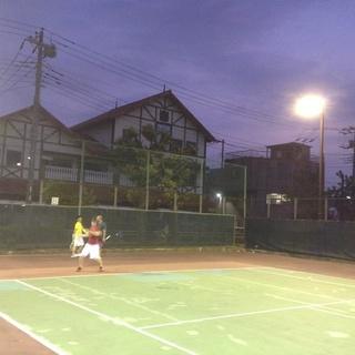 ★8/22ナイターでテニス(競技志向)★ 8/22(水)19:00...