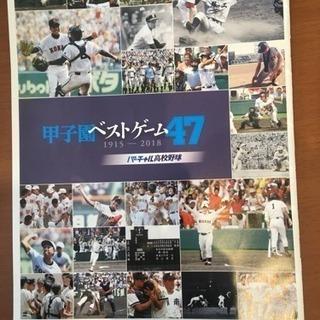 甲子園100回記念大会冊子!ベストゲーム他