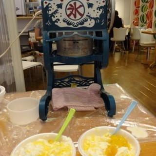台湾風かき氷で中国語交流会