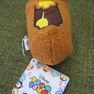 完売品☆ 新品・タグ付き■ ツムツム コグスワース ぬいぐるみ■美女と野獣■ディズニーストア - おもちゃ