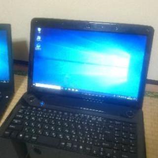 手持ちの稼働パソコンの一部です ノートパソコン pc core i3 i5 i7 DVD 無線LAN Wi-Fi 高性能 から 格安まで 多数 初心者 初パソコン - パソコン