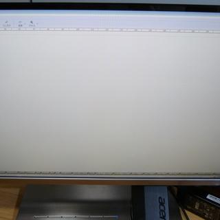 Acer 27インチ ワイド液晶ディスプレイ (光沢/IPS/フ...