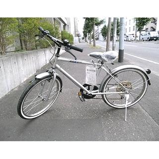 札幌 丸石サイクル新品!【22インチ 自転車 6段変速】組立て済み...