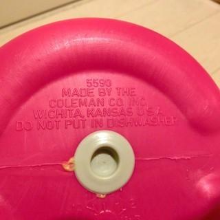 コールマン ポリライトジャグ(約1.9L) Coleman PolyLite 1/2 Gallon - 売ります・あげます