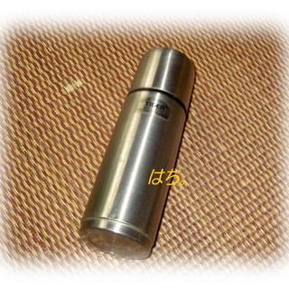 水筒:ステンレスボトル0.3ℓ:保温&保冷:TIGER製:…