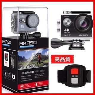 4K WIFI スポーツ カメラ HD 1200万画素30メートル防水