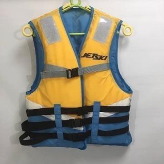 Kawasaki JET SKI ジュニア用ライフジャケットフロ...