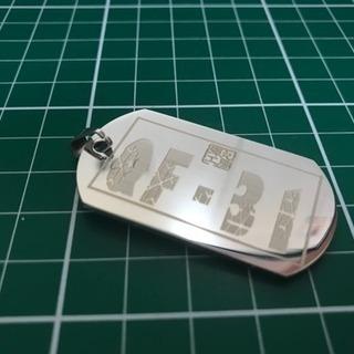レーザー刻印 オリジナルグッズ作成します。