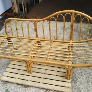 50%[籐製寝椅子]⁑リサイクルショップヘルプ