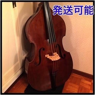 コントラバス スズキバイオリン製 81番 4/4サイズ 弓 ケース...