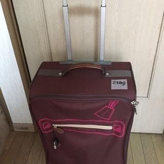 値下げ!【中古だけど美品】【格安】【引き取り限定】スーツケース 布...