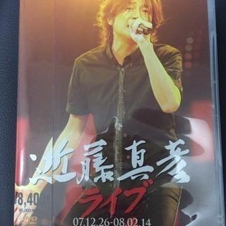 値下げしました!DVD【近藤真彦】ライブ 07.12.26-08...